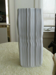 TALL and UNUSUAL OLD EXCLUSIVELY DESIGNED VINTAGE ISRAELI VASE
