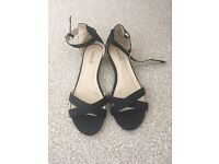 Low wedge sandals size 6