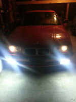 BMW E36 3 Series Fog lights with HIDs comes with ballast + bulbs