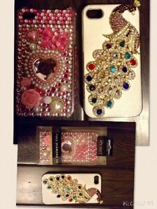 I phone 4 or 4S cases $7 each or $10 for both