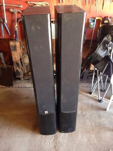 Tower speakers make an offer