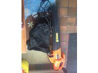 Leaf vacuum, blower and mulcher