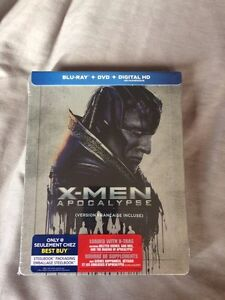 X men apocalypse blu ray steelbook