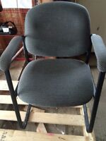 Fabric Office Armchairs (14 to sell)