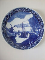 Large Blue Delft Plate