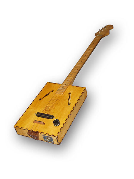 how to make a cigar box guitar ebay. Black Bedroom Furniture Sets. Home Design Ideas