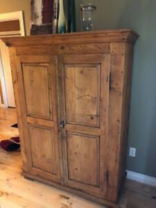 Rustic Armoire 150+ years-old