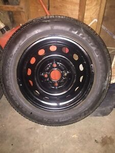 4  tires and rims for Honda Civic Kitchener / Waterloo Kitchener Area image 5