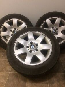 BMW rims + tires 205/55/R16