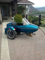 Harley Davidson EVO- sidecar