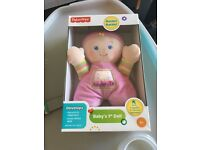 Brand new Fisher Price My First Doll