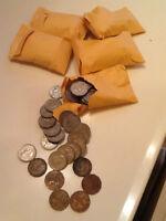 monnaie 5 cent rois george 6 lot de 206 pieces