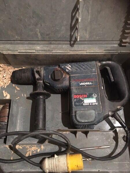 110v Bosch multi drill