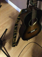 Fender  - Ron Emory 'Loyalty' Parlor Guitar - NEW