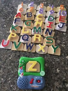 Leap frog fridge phonics magnetic letters with numbers  Peterborough Peterborough Area image 1