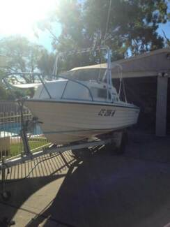 15ft Cruise Craft Runabout -1/2 Cabin - REDUCED!! Woy Woy Gosford Area Preview
