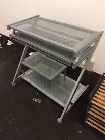 Metal Office Desk / Computer Station