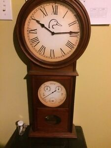 Ducks Unlimited chime clock
