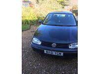 Volkswagen Golf 1.9 tdi pd. £750 or nearest offer.