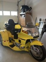 Moto gold wing 3 roues