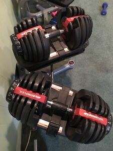 Bowflex Select Tech 552 dumbells Kitchener / Waterloo Kitchener Area image 2
