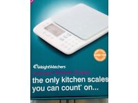 Weight watchers weighing scale