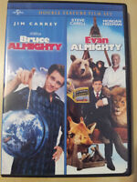 Bruce almighty - Evan almighty  Anglais seulement