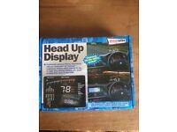 Streetwise head up display HUD