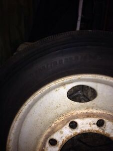 22.5 tire&rim Kitchener / Waterloo Kitchener Area image 2