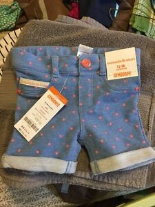 Brand new with tags Gymboree shorts, 12-18 M
