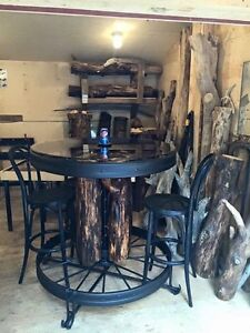 Rustic bar table. PRICE REDUCED!!!!