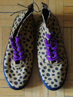 H&M High Top Runners Size 37 Camel/Brown Dots Brand New