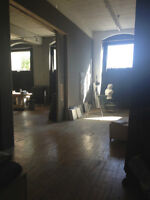 Renting our spacious loft in St Henri to film crews or tv