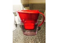 Water jug and electric heating kettle