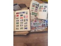 **STAMP COLLECTION**VINTAGE**THOUSANDS AND THOUSANDS OF VINTAGE STAMPS OF VARIOUS COUNTRIES**