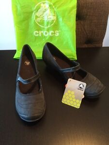 CROCS Wedges Women Shoes, brand new