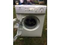 Zanussi Tiny Compact Washing Machine! Good for flats, caravans etc!!