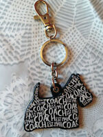 Coach Dog Keychain