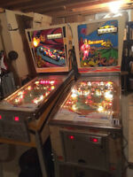FS: 2 pinball machines, Gottlieb Spin Out and Buccaneer