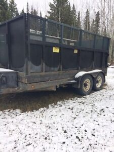 dump trailer for sale REDUSED!!! 7000$ Prince George British Columbia image 3