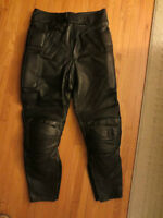 Men's Leather Motorcycle Pants - New, Perfect Condition