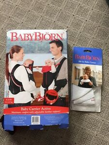 Baby Björn Active Carrier with back support