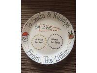 Personalised Christmas Plates.