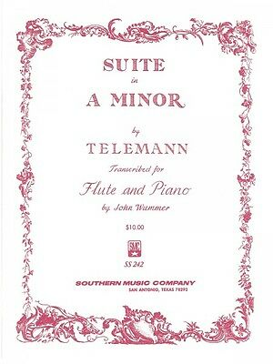 Original Suite In A Minor Flute And Piano Organ New 003773845 Musical Instruments & Gear