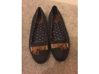 Fred Perry Ladies Shoes Size 6