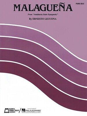 Malaguena Sheet Music Piano Solo NEW Ernesto Lecuona 000009449
