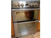 Stoves Stainless Steel Cooker: Gas Hob and Electric Oven