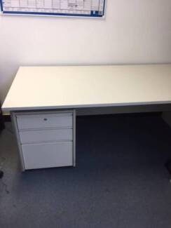 FREE DESK WITH DRAWERS