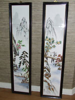 Chinese Art on Tile