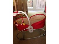Tinylove rocker napper/baby seat/napping basket